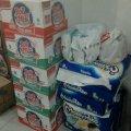 Bantuan umat MBK @ Posko MBK tanggal 24 Januari 2014