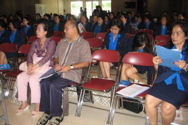 Konferensi WKRI Cabang MBK, Terpilih Pimpinan Baru