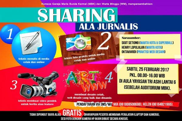 Sharing ala Jurnalis