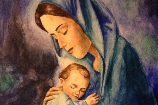 Maria Tidak Pernah Berhenti Menjadi Ibu