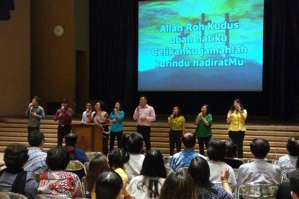 Agent of Change: Buka Hati pada Roh Kudus
