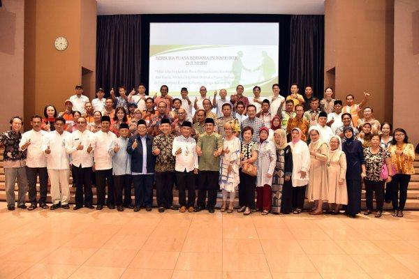 Buka Puasa Bersama Gereja Iktk, MBK, Susteran Sang Timur