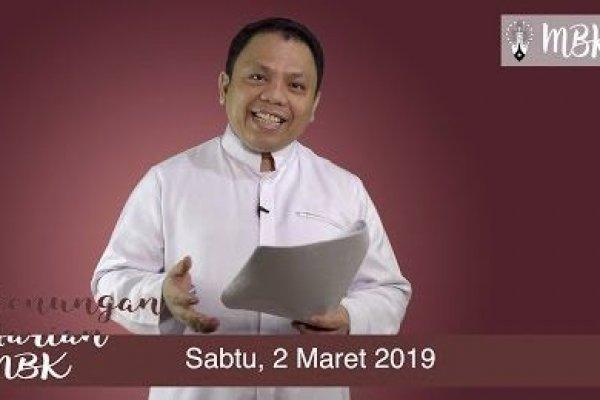 Sabtu, 2 Maret 2019