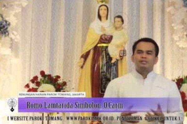 Jumat, 16 Mei 2014, Pekan Paskah IV