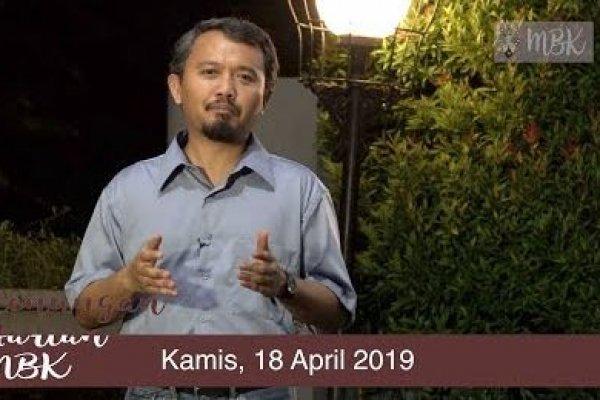 Kamis, 18 April 2019