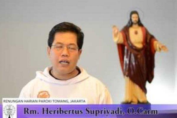 Sabtu, 21 Juni 2014, Peringatan Wajib Santo Aloisius Gonzaga, Biarawan