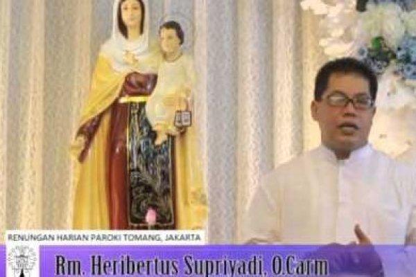 Kamis, 22 Mei 2014, Pekan Paskah V
