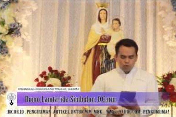 Kamis, 15 Mei 2014, Pekan Paskah IV