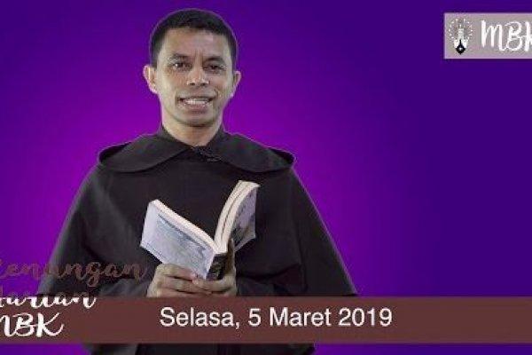 Selasa, 5 Maret 2019