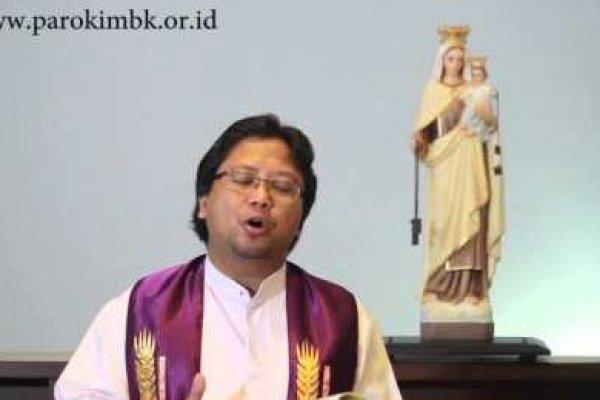 Jumat, 4 April 2014, Pekan Prapaskah IV