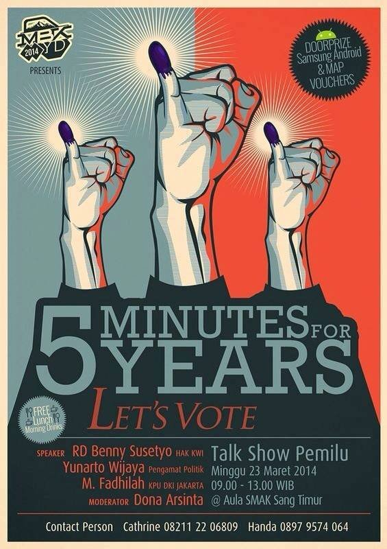 Talk Show Pemilu - 5 Minutes for 5 Years