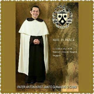 Riwayat Hidup Rm. Antonius Maria Kristijanto Gunawan O. Carm