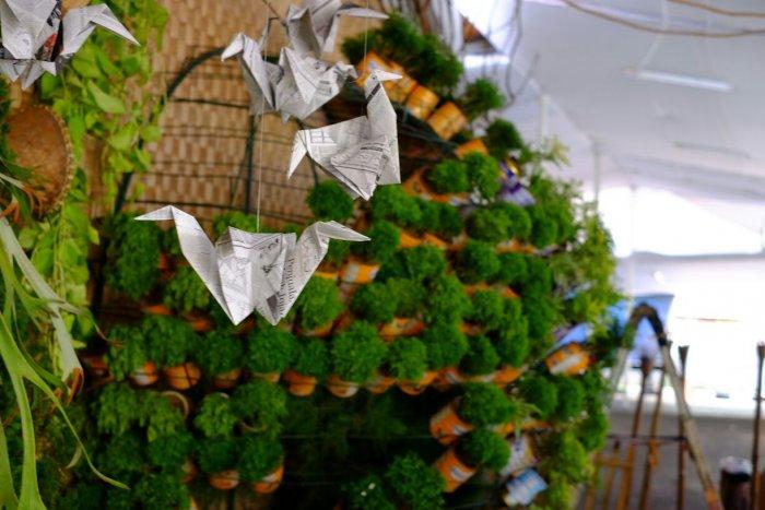 Makna Dekorasi Green Christmas Photobooth 2016 Paroki Tomang - MBK