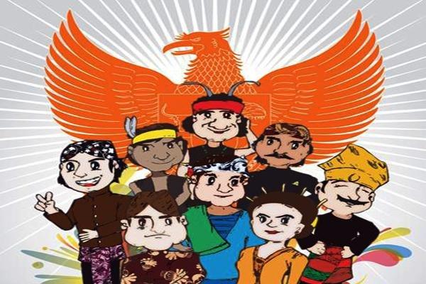 Amalkan Pancasila: Kita Bhinneka, Kita Indonesia